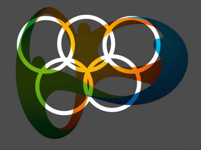 logo Rio 2016 con cerchi olimpici