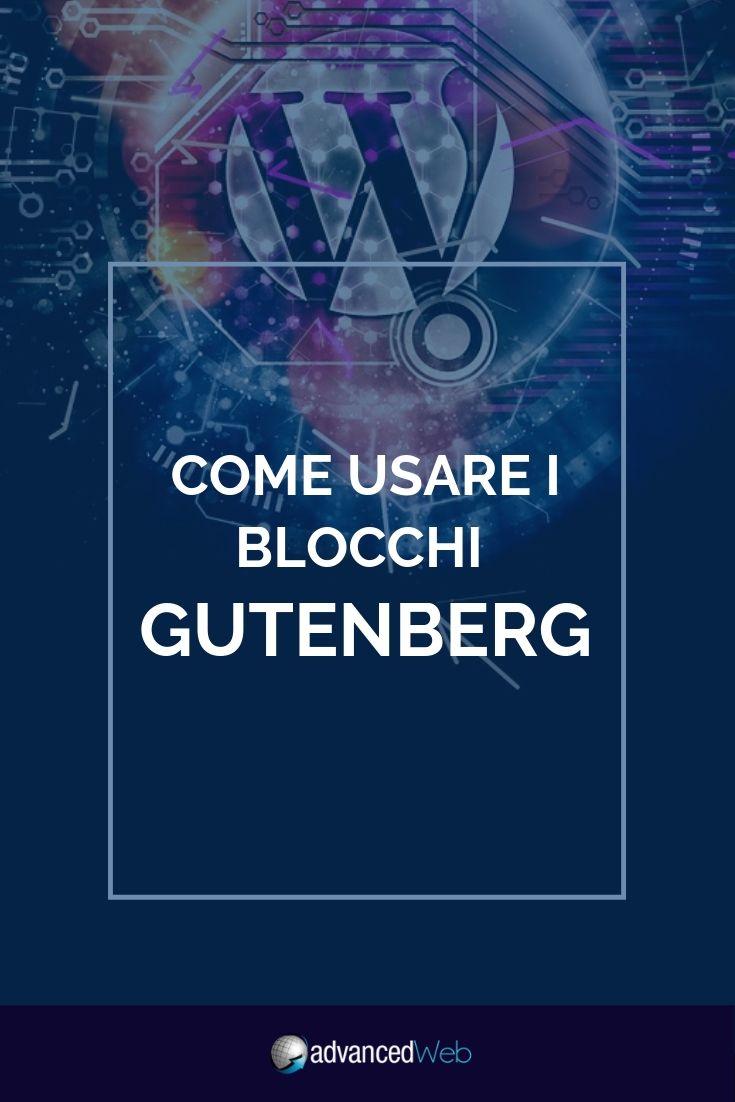 Come usare i blocchi Gutenberg